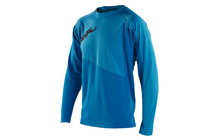 Royal Racing Drift Bike Jersey LS men electric blue